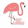 Fuzzy Flamingo Logo