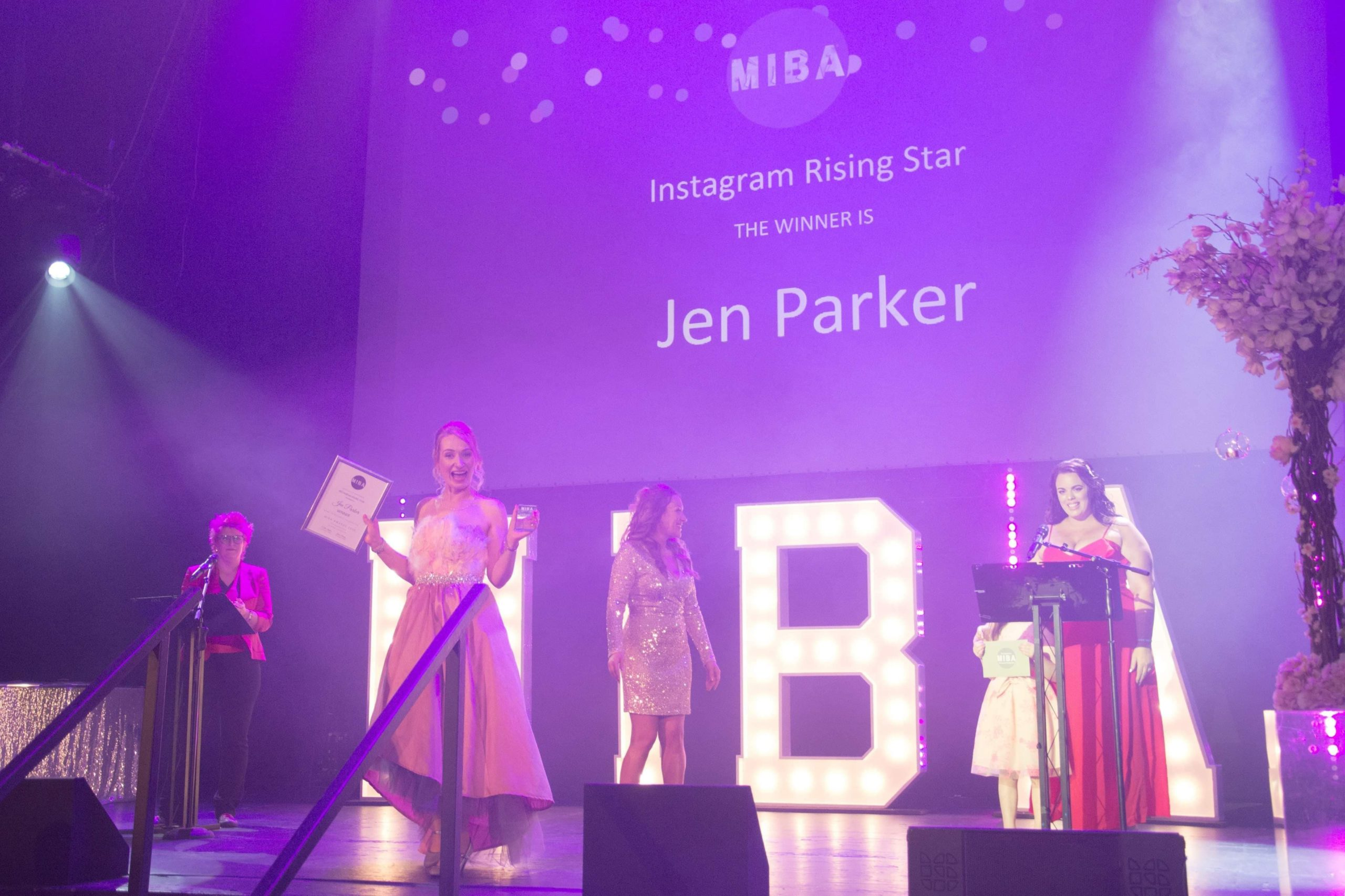 Jen Parker of Fuzzy Flamingo | WINNER of the 'Instagram Rising Star' award in 2020